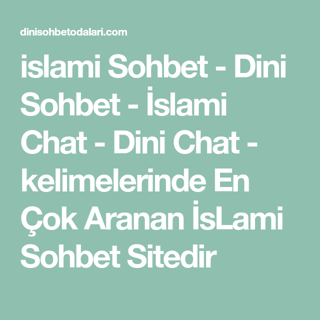 Dini chat